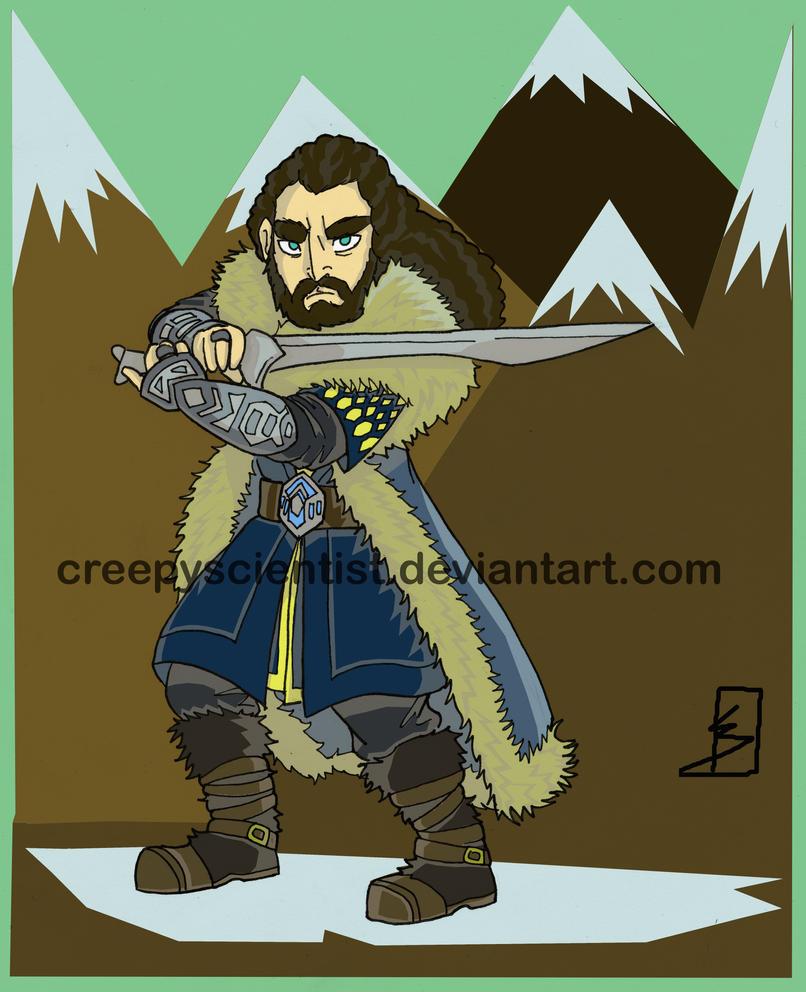 Thorin Oakenshield by CreepyScientist