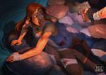 Tomb Raider 2013 Lara in Danger final