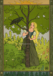 Raven-and-the-Maiden
