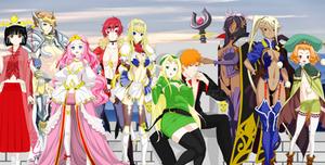 ichigo kurosaki y las princesas guerreras