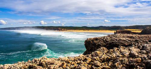 Praia da Bordeira by StonyStoneIsStoned2