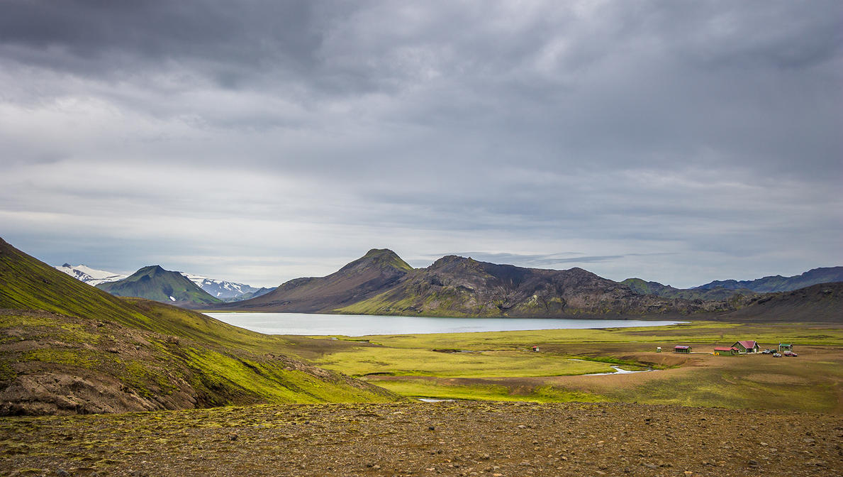 Alftavatn lake by StonyStoneIsStoned2