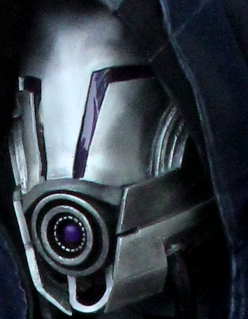 Tali's DLC helmet by ThresherMaw