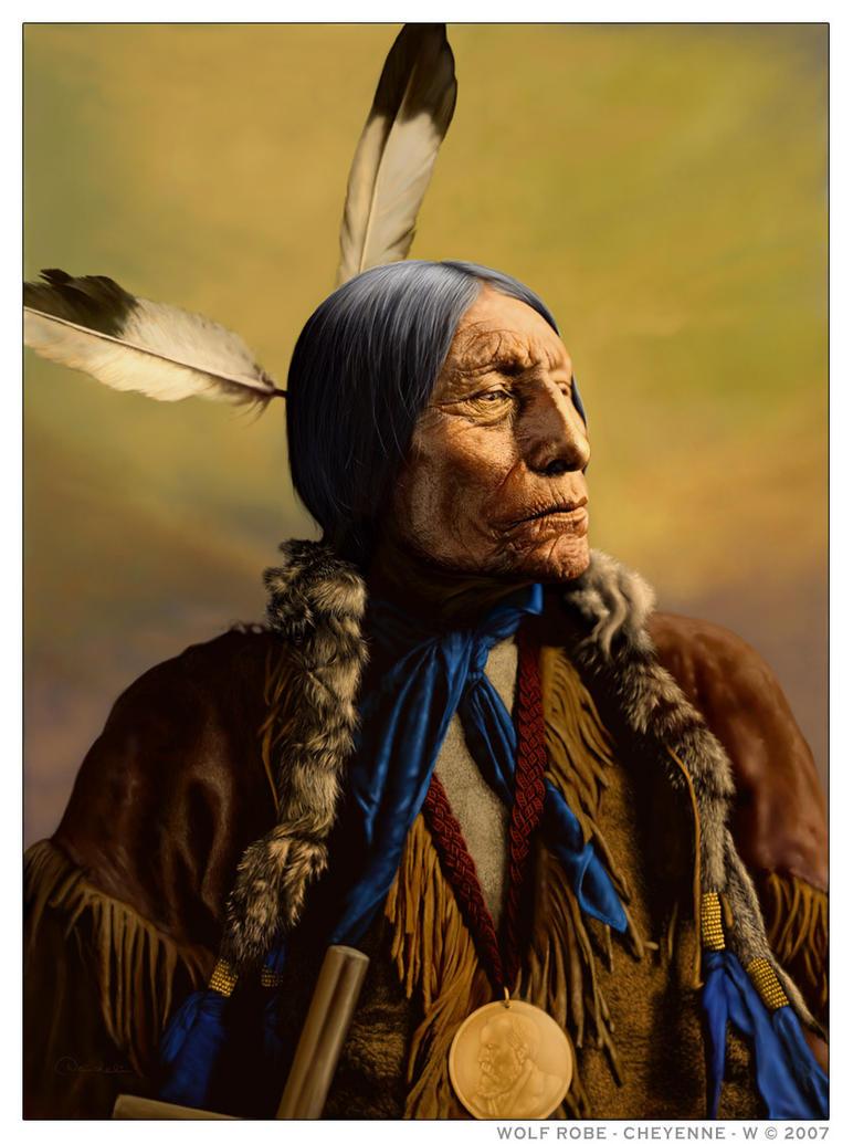 WOLF ROBE - Cheyenne by wendelin