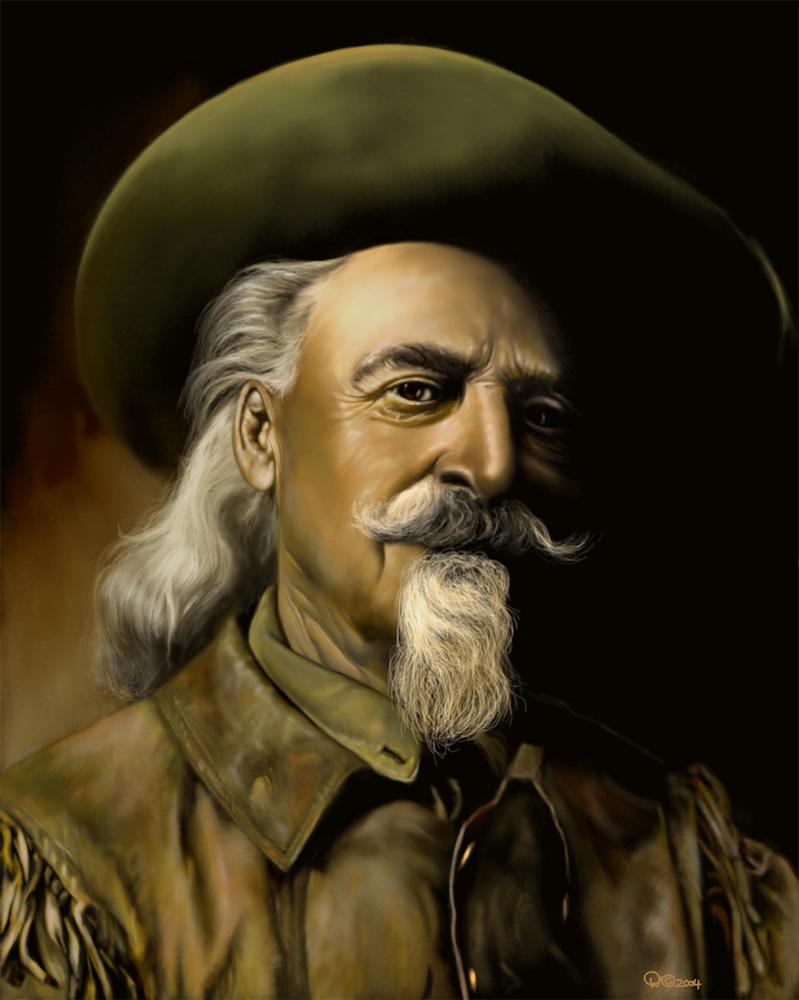 Buffalo Bill by wendelin