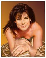 Sandra Bullock by wendelin