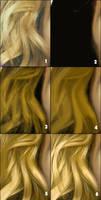 drawing hair by wendelin