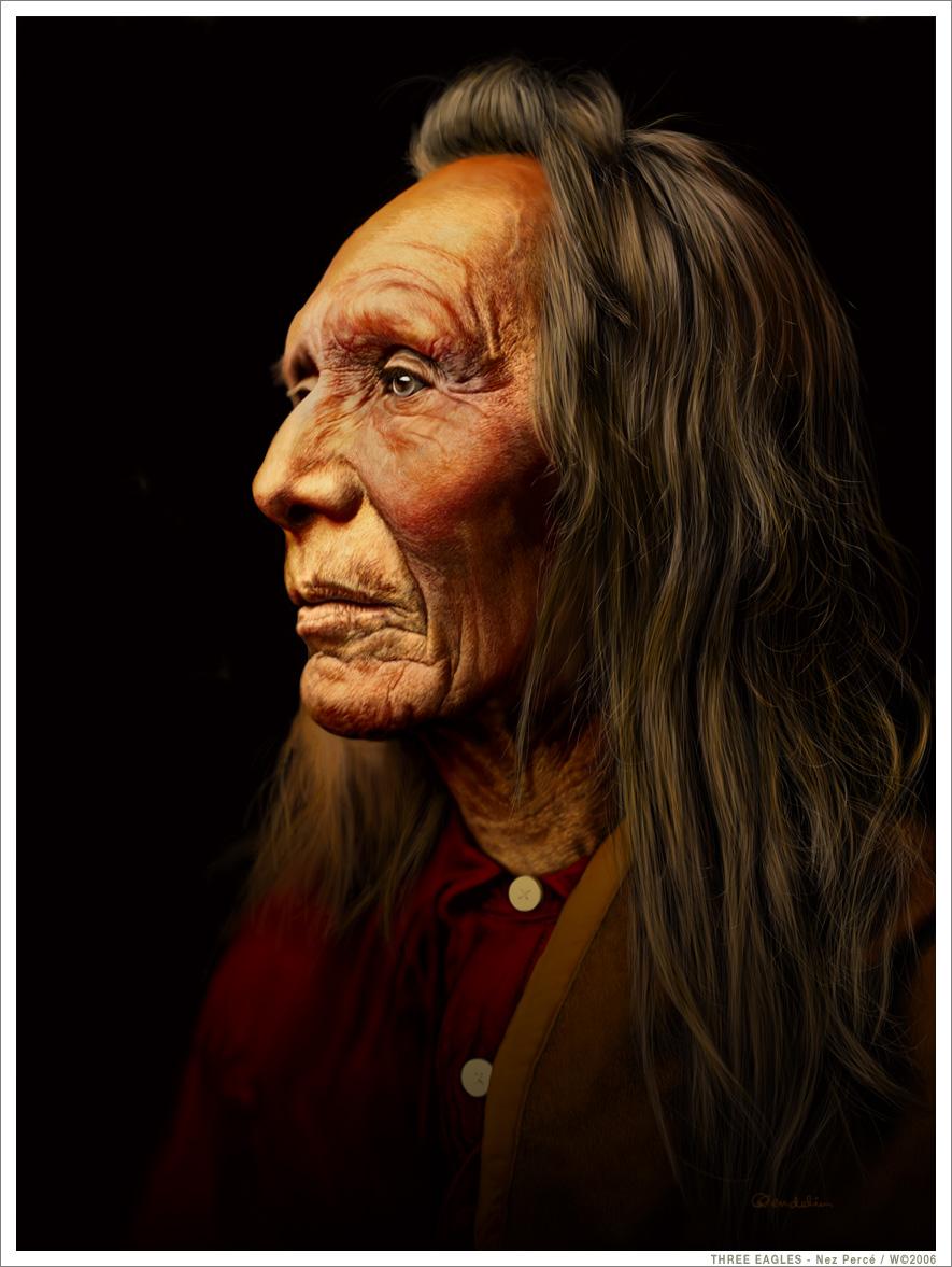 THREE EAGLES - Nez Perce
