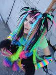 AX09: Rainbow Cybergoth