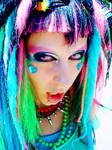 AX09: Rainbow Cybergoth III