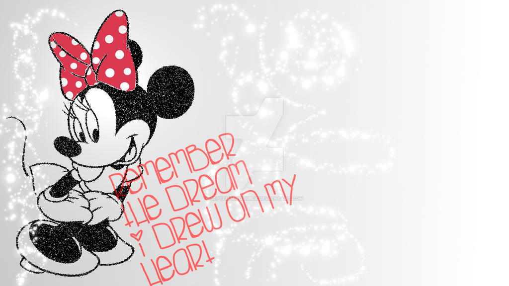 Minnie Mouse Wallpaper By Septemberglueck On Deviantart
