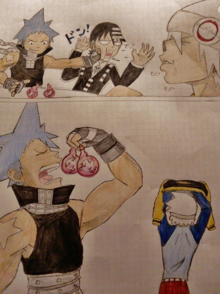 SOUL EATER muscle growth 2 by tera114