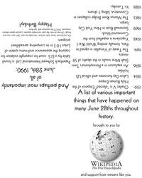 Birthday: June 28th by flytape8490