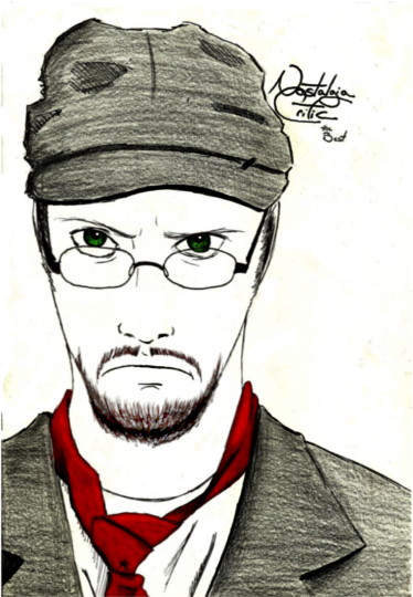 Nostalgia Critic Cover Art by AJB66613