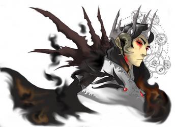 Melkor, Primordial evil. by Ixionvincent