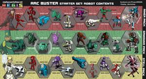 A.E.G.I.S. - Arc Buster 30-Set