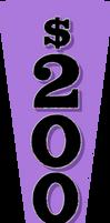 $200 Purple