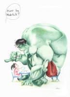 Hulk by nunofrias