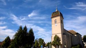 Church near Besancon