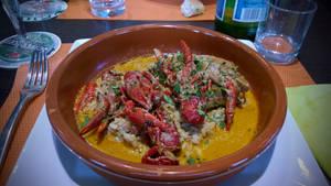 Chicken Saute with Crayfish