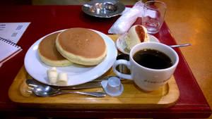 Pancake a la Japanese