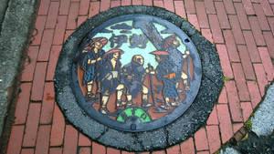 Manhole of Ise
