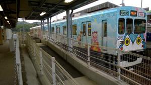 Train of Iga railway