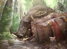 Hog by fooyee