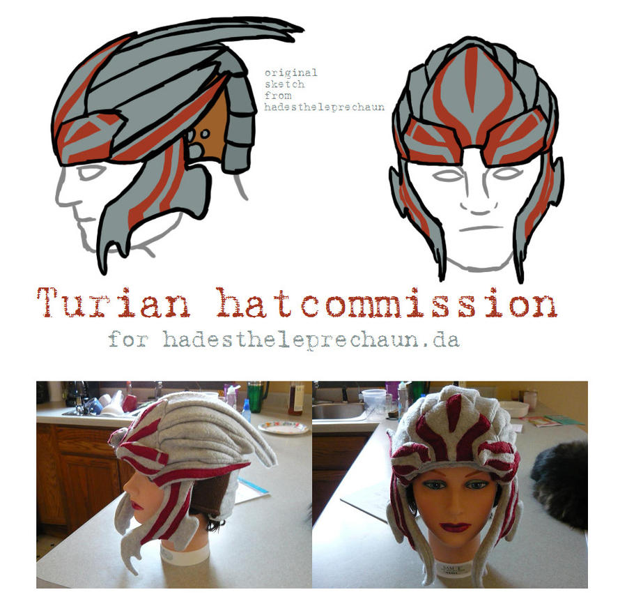 Hat commission - Turian by Tycho