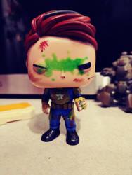 custom fallout OC funko pop by Tycho