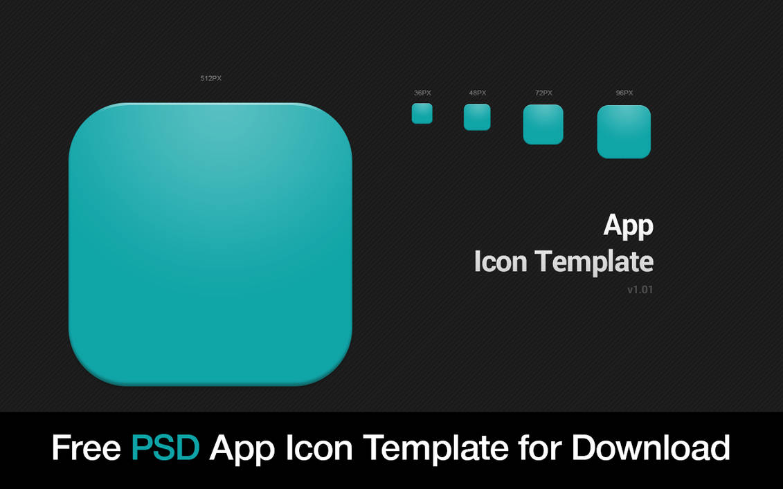 Free Icon Template Psd By How2des