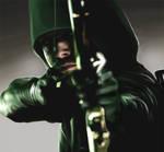 Green Arrow - CG Painting