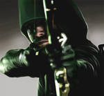 Green Arrow - CG Painting