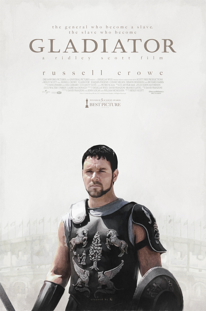 Gladiator - Fanmade Poster by Kc-Eazyworld