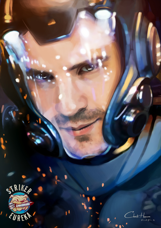 Chuck Hansen - Pacific Rim by Kc-Eazyworld