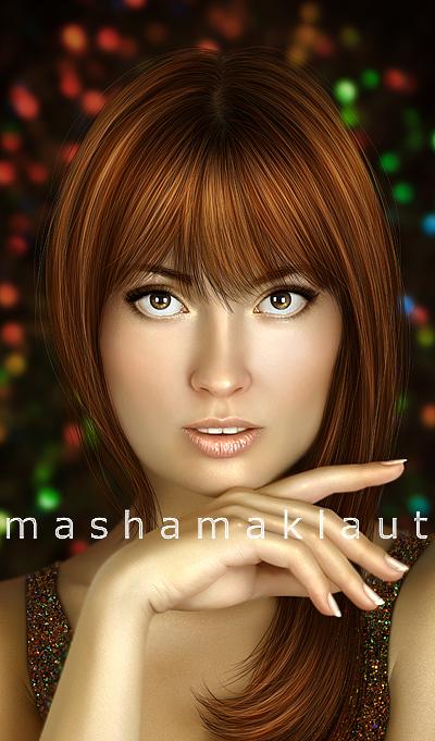 Self-portrait by mashamaklaut