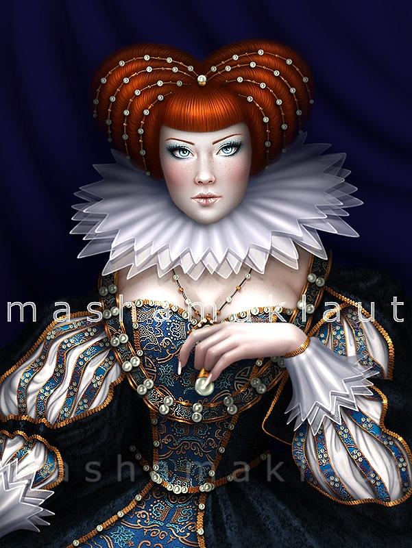 Anna.reproduction by mashamaklaut