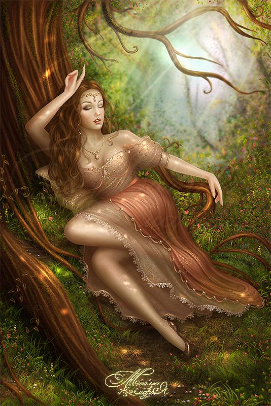 Sleeping Beauty by mashamaklaut