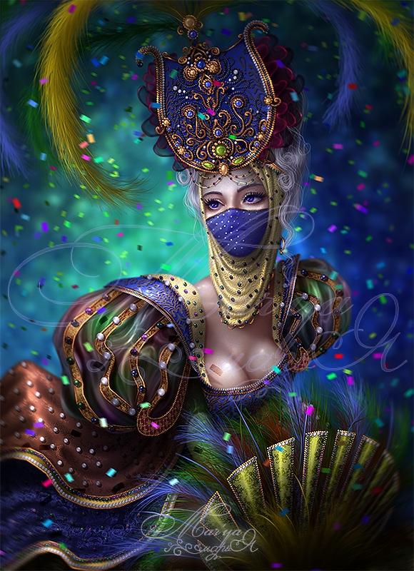 Mystic Queen by mashamaklaut