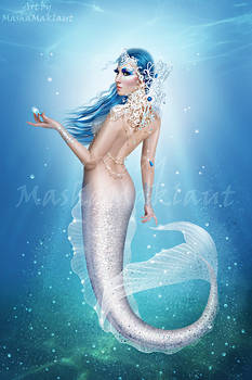 White mermaid