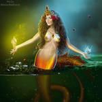 Ragefire mermaid