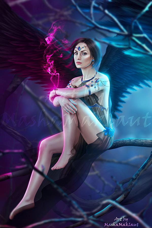 dark Angel by mashamaklaut