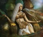 Daenerys Targaryen. Reygal