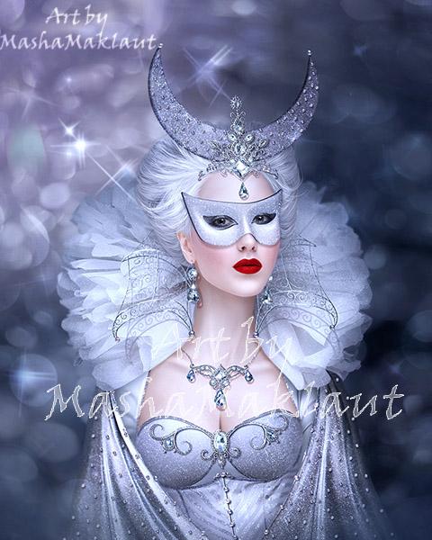 Moonlight mask by mashamaklaut