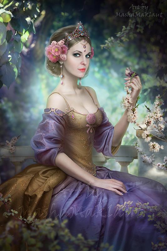 Just a portrait in the garden... by mashamaklaut