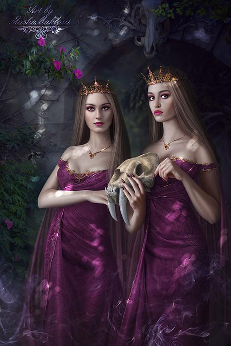 Sisters by mashamaklaut