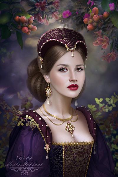 Anne Boleyn by mashamaklaut