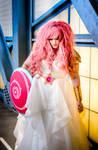 Rose Quartz Cosplay at Anime Weekend Atlanta 2016