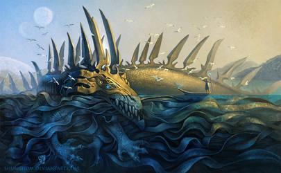 A meeting in the Ocean by Shumshum