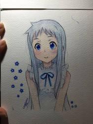 Menma - Hana by LearClow